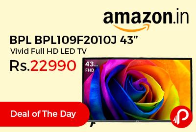 """BPL BPL109F2010J 43"""" Vivid Full HD LED TV"""