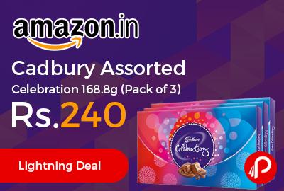 Cadbury Assorted Celebration 168.8g