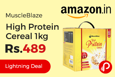 MuscleBlaze High Protein Cereal 1kg