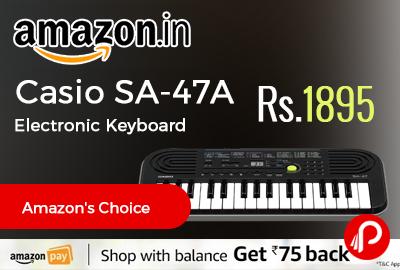 Casio SA-47A Electronic Keyboard