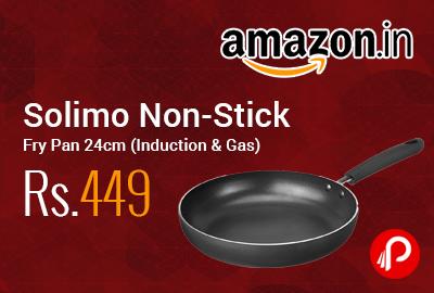 Solimo Non-Stick Fry Pan 24cm