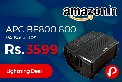 APC BE800 800 VA Back UPS