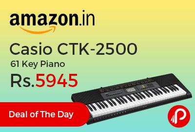 Casio CTK-2500 61 Key Piano