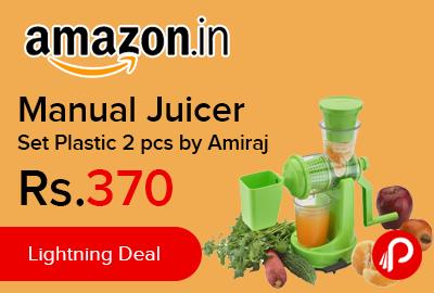 Manual Juicer Set Plastic 2 pcs