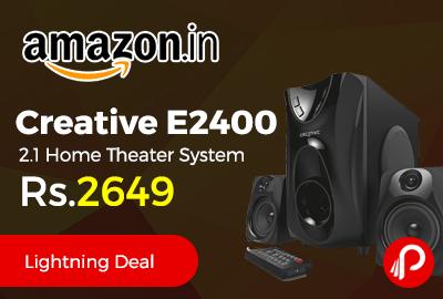 Creative E2400 2.1 Home Theater System