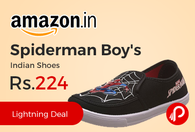 Spiderman Boy's Indian Shoes