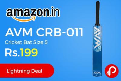 AVM CRB-011 Cricket Bat Size 5