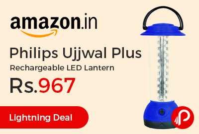 Philips Ujjwal Plus Rechargeable LED Lantern