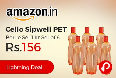 Cello Sipwell PET Bottle Set 1 ltr