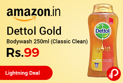 Dettol Gold Bodywash 250ml