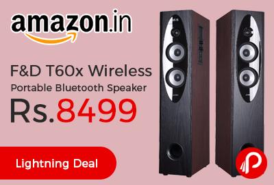 F&D T60x Wireless Portable Bluetooth Speaker