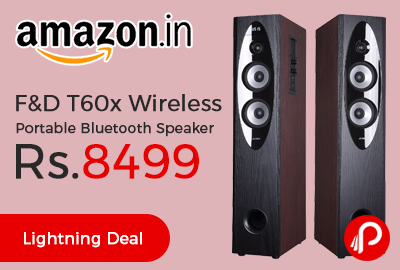 F&D T60x Wireless Portable Bluetooth Speaker