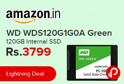 WD WDS120G1G0A Green 120GB Internal SSD