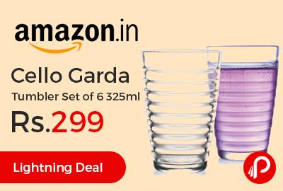 Cello Garda Tumbler Set of 6 325ml