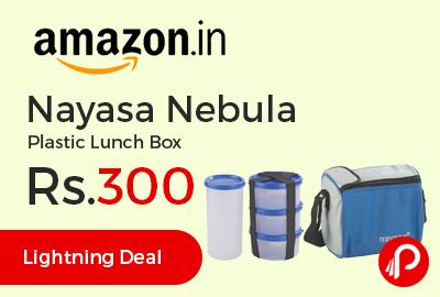 Nayasa Nebula Plastic Lunch Box