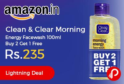 Clean & Clear Morning Energy Facewash 100ml