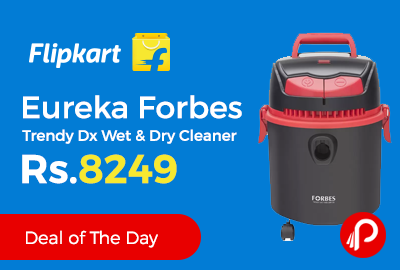 Eureka Forbes Trendy Dx Wet & Dry Cleaner