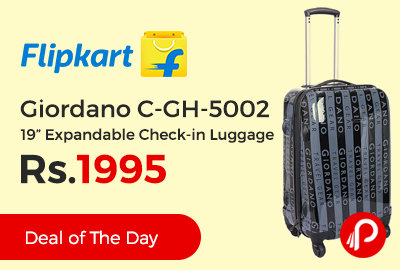 """Giordano C-GH-5002 19"""" Expandable Check-in Luggage"""