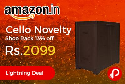Cello Novelty Shoe Rack
