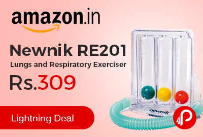 Newnik RE201 Lungs and Respiratory Exerciser