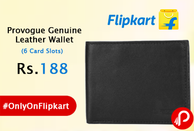 Provogue Genuine Leather Wallet