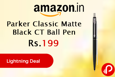 Parker Classic Matte Black CT Ball Pen