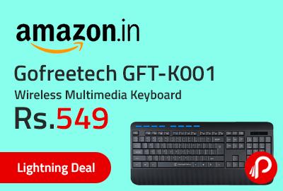 Gofreetech GFT-K001 Wireless Multimedia Keyboard
