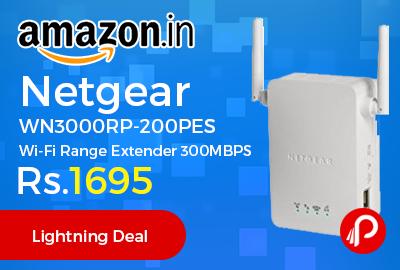 Netgear WN3000RP-200PES Wi-Fi Range Extender 300MBPS