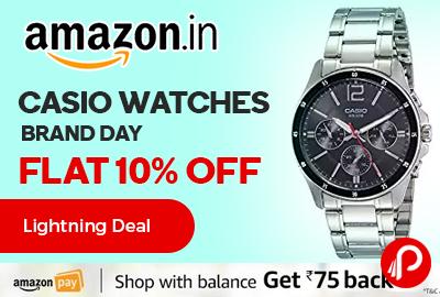 Casio Watches Brand Day