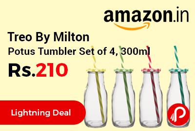 Treo By Milton Potus Tumbler Set of 4, 300ml