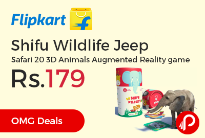 Shifu Wildlife Jeep Safari 20 3D Animals Augmented Reality game