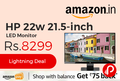 HP 22w 21.5-inch LED Monitor