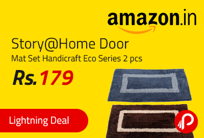 Story@Home Door Mat Set Handicraft Eco Series 2 pcs