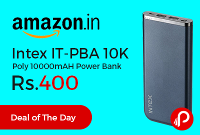 Intex IT-PBA 10K Poly 10000mAH Power Bank