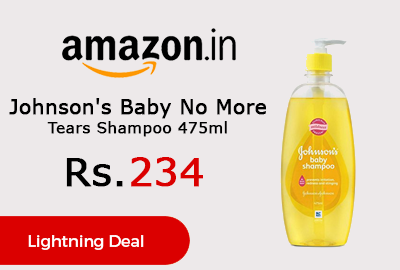 Johnson's Baby No More Tears Shampoo 475ml