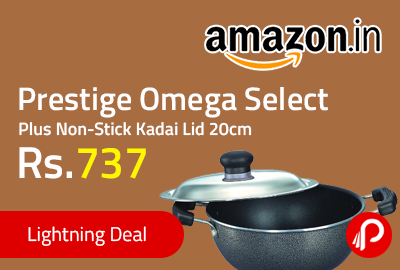 Prestige Omega Select Plus Non-Stick Kadai Lid 20cm