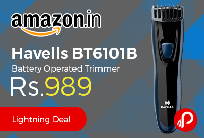Havells BT6101B Battery Operated Trimmer