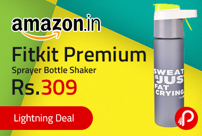 Fitkit Premium Sprayer Bottle Shaker