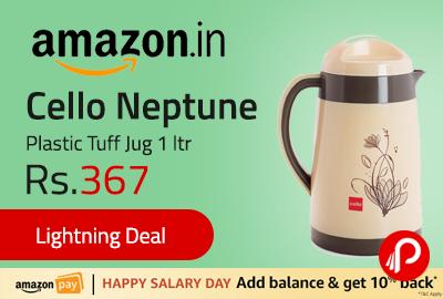 Cello Neptune Plastic Tuff Jug 1 ltr