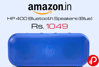 HP 400 Bluetooth Speakers (Blue)