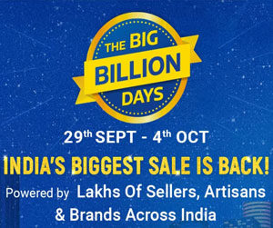 Flipkart Big Billion Days 2019