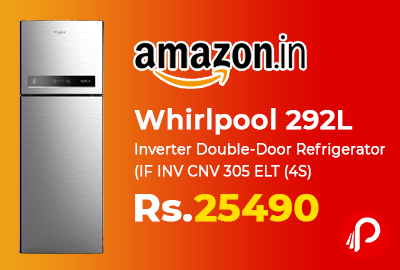 Whirlpool 292L Inverter Double-Door Refrigerator