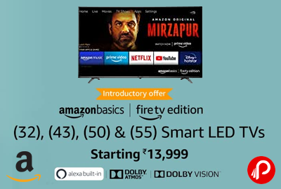 AmazonBasics TVs | Just launched Starting 13,999 - Amazon India