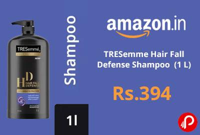 TRESemme Hair Fall Defense Shampoo (1 L) @ 394 - Flipkart
