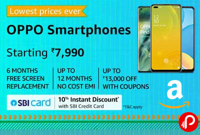 OPPO Smartphones Starting 7990 | Lowest Price Ever - Amazon India