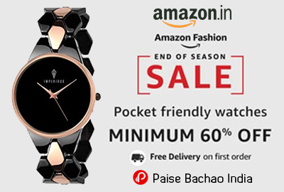 Pocket Friendly Watches | MINIMUM 60% OFF - Amazon India