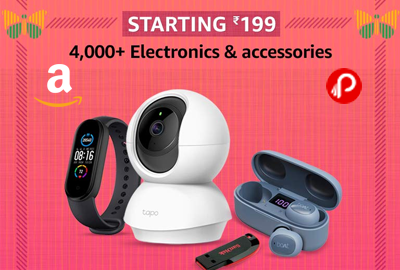 Electronics & Accessories - STARTING 199 - Republic Day Sale – Amazon India