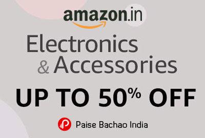 Electronics & Accessories - UPTO 50% OFF - Amazon India