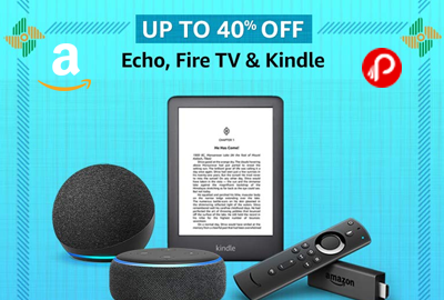 Echo, Fire TV & Kindle - UP TO 40% OFF - Republic Day Sale – Amazon India
