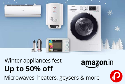 Winter Appliances Fest - Up to 50 off - Amazon India